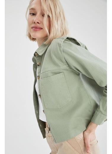 DeFacto Ceket Yeşil